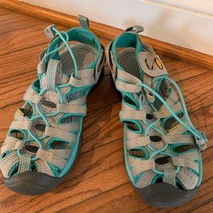 Keen water sandals size 6